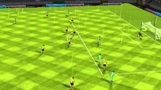 FIFA 13 iPhone/iPad - VfL Wolfsburg vs. Bor. Dortmund