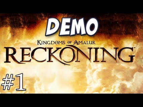 Hannah Plays! - Kingdoms of Amalur: Reckoning Demo Music Videos