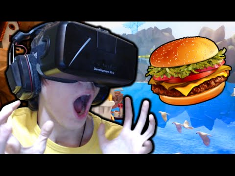 AVVENTURA EPICA SU OCULUS RIFT! - (Birdy King Land / Project Jumpscare)