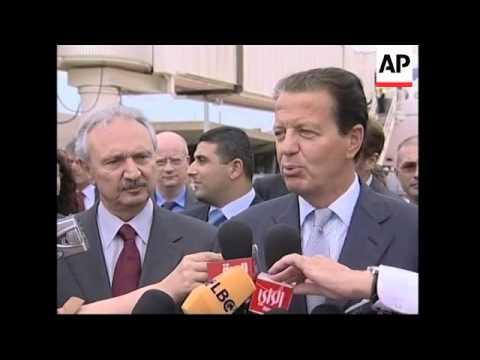 France's flagship carrier resumes flights to Beirut, transport minister comments