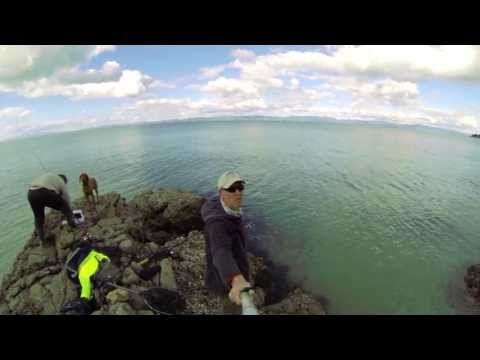 Gopro Snapper Fishing NZ