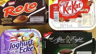 KitKat Yogurt After Eight Dessert Müller Yogurt Rolo Dessert