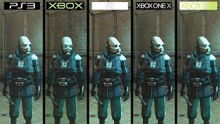 Half-Life 2 | Xbox vs PS3 vs 360 vs ONE X vs PC | All Versions 4K Graphics Comparison