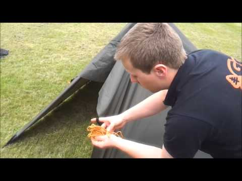 How to set up your DD 3x3 Tarp like a Tent