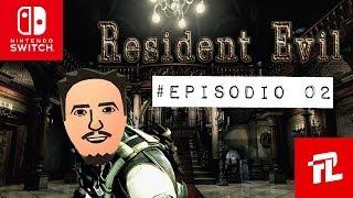 Resident Evil [Nintendo Switch] - Gameplay Español Part 2 Explorando la mansion - Directo Comentado