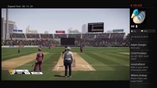 Streaming some Don Bradman Cricket 14