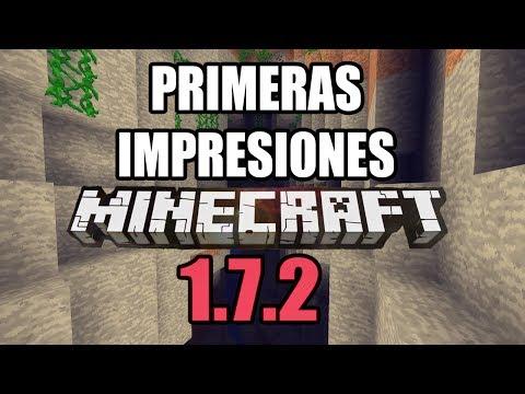 PRIMERAS IMPRESIONES ACTUALIZACIÓN MINECRAFT 1.7.2