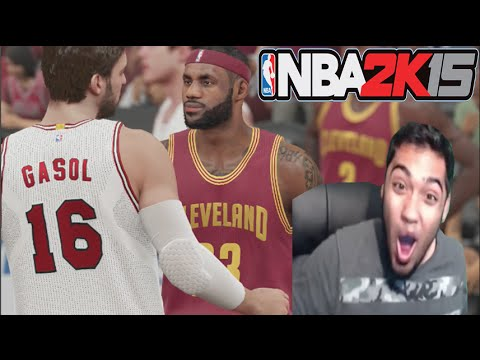 NBA 2k15 PS4 Gameplay FaceCam! Chicago Bulls vs Cleveland Cavaliers | CRAZIEST AND-1 EVER!