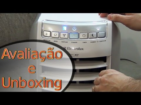 Avaliação Electrolux CL07F 07071F climatizador umidificador unboxing review humidifier air