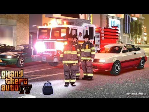 Grand Theft Auto IV - FDLC/FDNY - 56th day with the fire department! #TBT