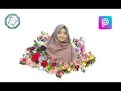 Cara Edit Foto Magic Flower Effect
