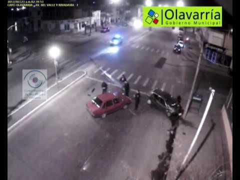 Heridos leves en un fuerte choque en Olavarria