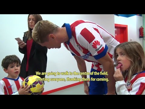 Behind The Scenes of Fernando Torres Presentation for Atletico Madrid 2015
