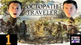 Octopath Traveler: Old School RPG: Part 1: Start Player One