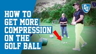 How to Get More Compression on the Golf Ball