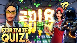 FORTNITE 2018 QUIZ MINIGAME! - Fortnite Creative (Nederlands)