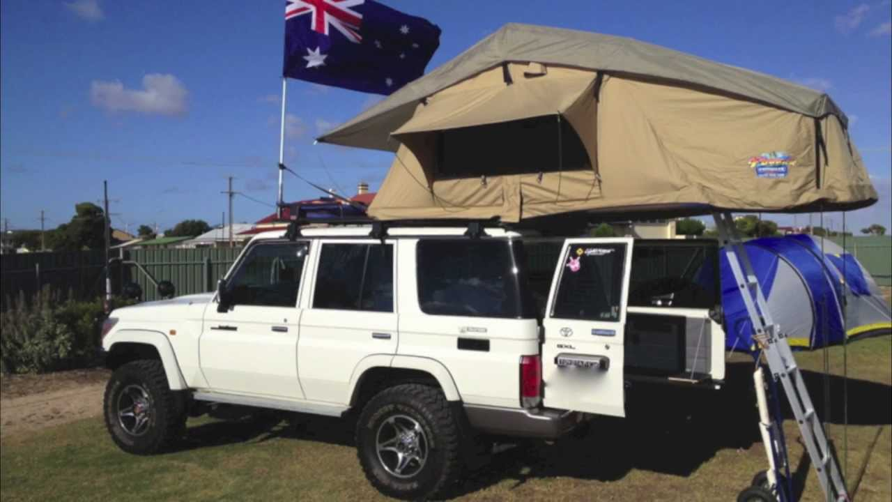 Rooftop Tent Setup Youtube