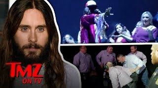 Jared Leto Stop Shows To Stop Fight At Concert! | TMZ TV