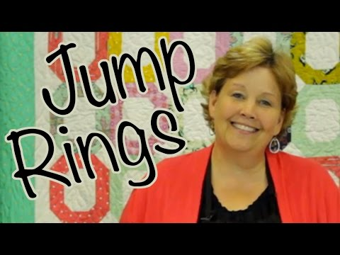 The Jump Ring Quilt: Easy Quilting with Jelly Rolls