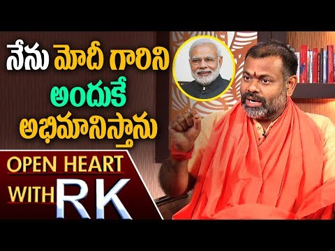 Swami Paripoornananda about PM Modi and His Political Entry | Open Heart with RK