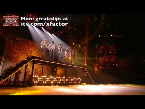 One Direction sing Torn - The X Factor Live Final - itv.com/xfactor