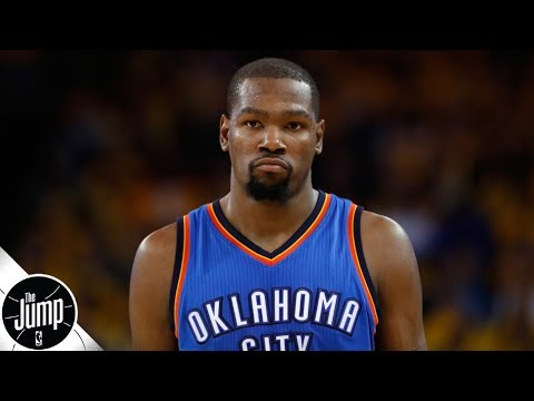 Download Lagu  Thunder fans need to 'get over it,' let Kevin Durant have jersey retired - Tracy McGrady | The Jump Mp3 Free