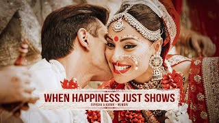 WHEN HAPPINESS JUST SHOWS - Bipasha Basu & Karan Grover Wedding Glimpses