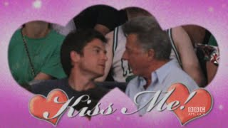 "Dustin Hoffman and Jason Bateman Share a ""Kiss Cam""  - The Graham Norton Show on BBC America"
