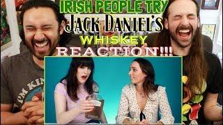 Irish People Try Jack Daniel's Whiskey - REACTION!!!