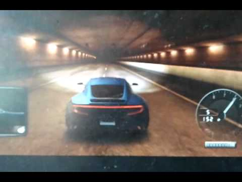 Aston Martin One-77 Tdu 2 tunnel run