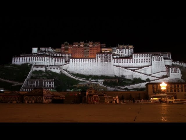 The Potala palace (Lhasa - Tibet - China)