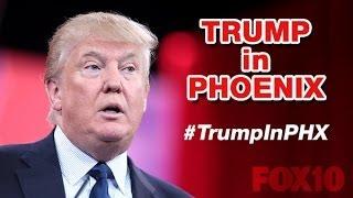 LIVE YOU TUBE LINK BELOW THIS VID-Donald Trump's #StandWithTrumpAZ Phoenix Event on Illegal Immigrat