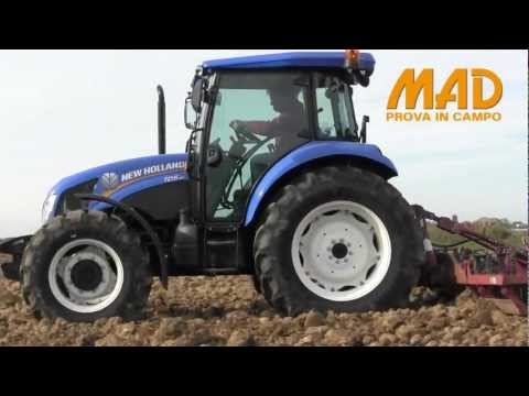 New Holland TD5.85: prova in campo MAD 2013