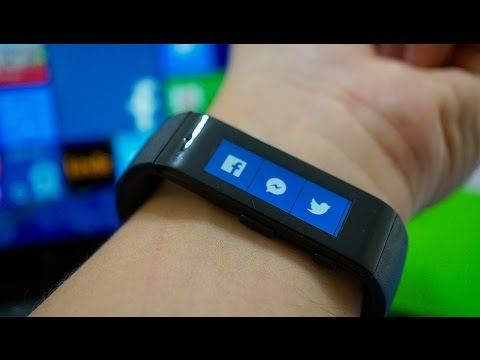 Microsoft Band: an afternoon with Windows Phone's first wearable