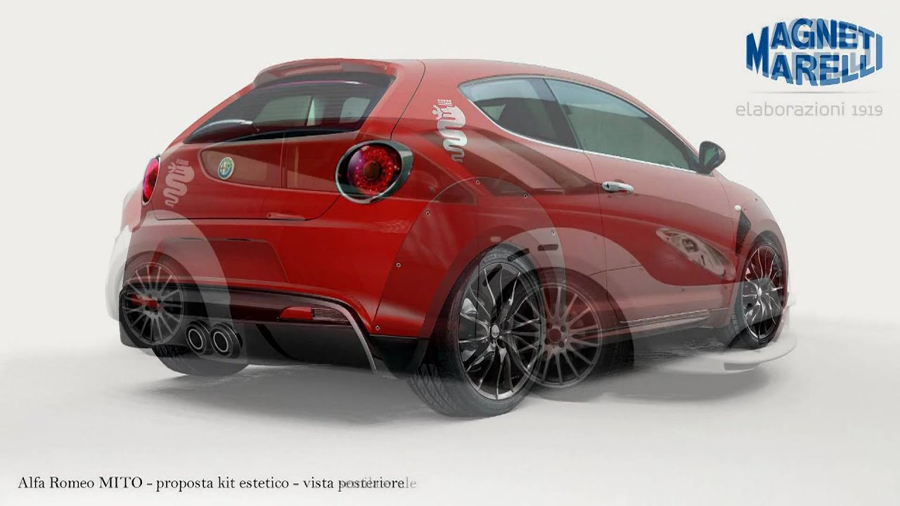 2010 Alfa Romeo Mito Kit One By Magneti Marelli