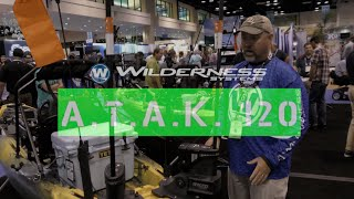 NEW Wilderness Systems A.T.A.K. 120 Angler Kayak