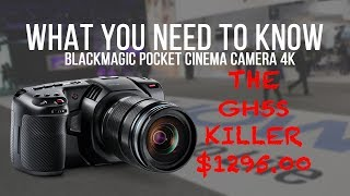 This is what you need to know about the Blackmagic Pocket Cinema Camera 4K