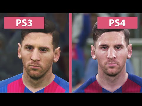 PES 2017 – PS3 vs. PS4 (Demo) Graphics Comparison Pro Evolution Soccer