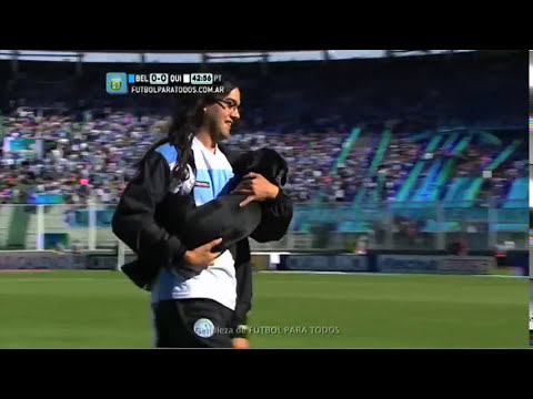 El perro del Kempes. Belgrano - Quilmes. Fecha 11. Torneo Primera División 2014. FPT.