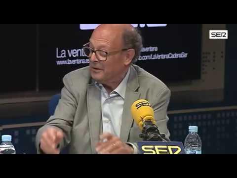 """Francisco Ibáñez: """"Los medios me dieron la idea de crear el personaje del tesorero"""". Cadena SER"""