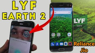 LYF Earth 2 Smartphone+ Unboxing Review With Retina Scanner