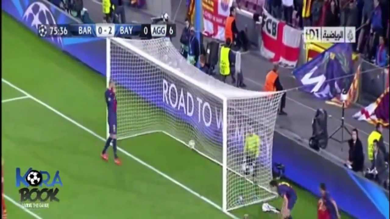 barcelona 3 - 0 Bayern M�nih [ Geni� Ma� �zeti ]