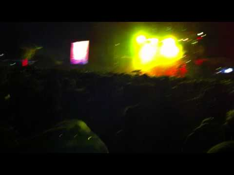 Primus at Bonnaroo 2011 #3 of 3 Parachutes dropping glitter!