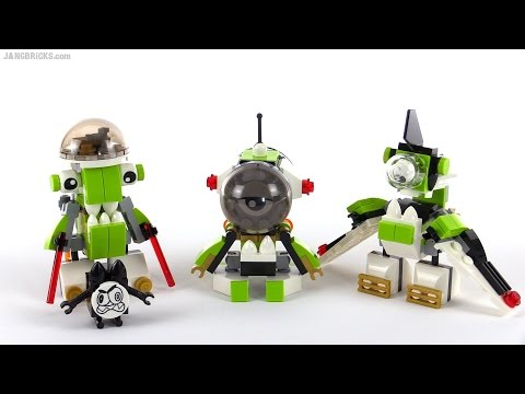 LEGO Mixels Series 4: All Orbitons reviewed!