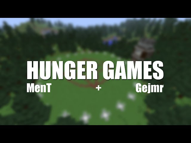 [Minecraft]MenT a Gejmr hrají Hunger Games!