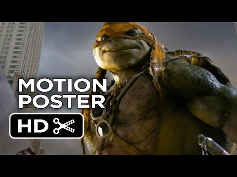 Teenage Mutant Ninja Turtles - Character Motion Posters (2014) - Michael Bay Movie HD