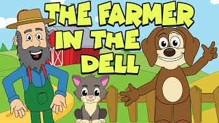 The Farmer In The Dell | Nursery Rhymes And Kids Songs | Puppy Hey Hey