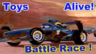 Cars 2: The Video Game ☆ Midnight Francesco ☆ Battle Race on Canyon Run