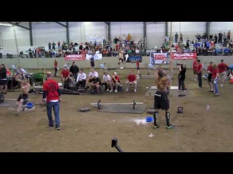 2010 CrossFit Northwest Regional - Men's Final Event (Part I)