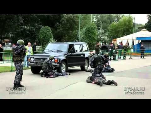 Spetsnaz show in Moscow